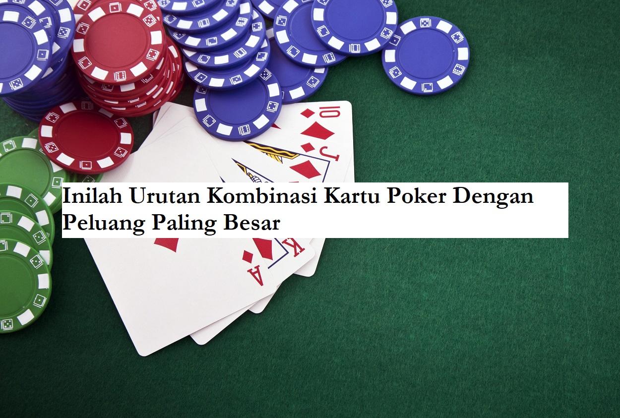 peluang kombinasi kartu poker